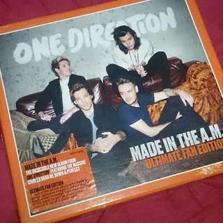 one direction / 1D album made in the a.m