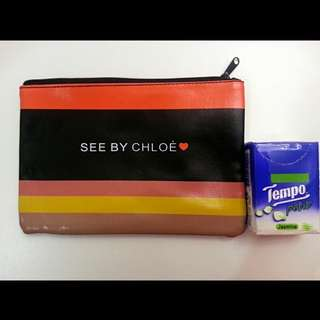 See by chloe cosmetic bag 化妝袋