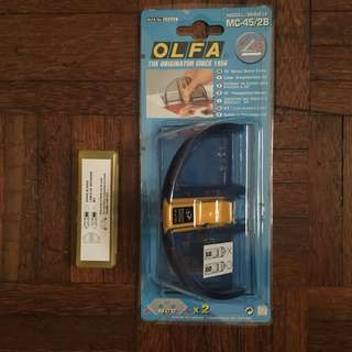 OLFA 45 degree mount board cutter