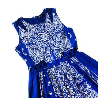 SALE!!! Topshop Casual  Royal Blue Dress