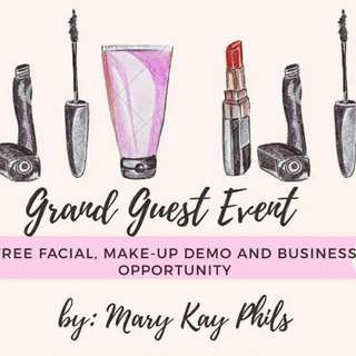 Mary kay frer facial and business opportunity