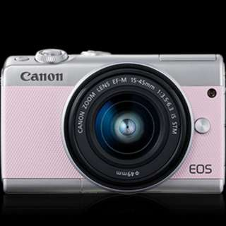 Canon EOS M100 15-45mm ( PINK )
