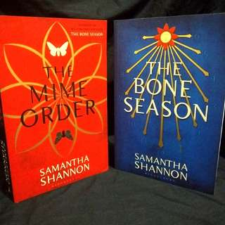 The Mime Order & The Bone Season by Samantha Shannon
