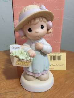 Buy 3 Get 1 Free : Precious Moments Girl Figurine : Take Thyme For Yourself