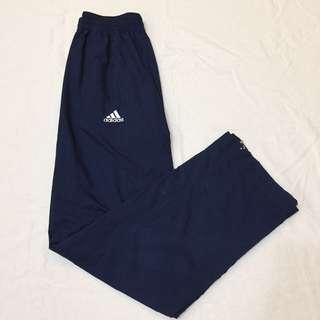 日本帶回 二手 Adidas 運動長褲 運動褲 風褲 拉鍊式 男女皆可