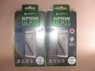 香港行貨 日本玻璃 Samsung C8 專用手機貼全覆蓋防指紋塗層鋼化玻璃