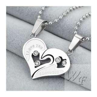 Titanium steel necklace TCN021