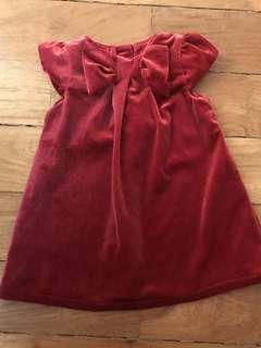 Red Velvet H&M dress