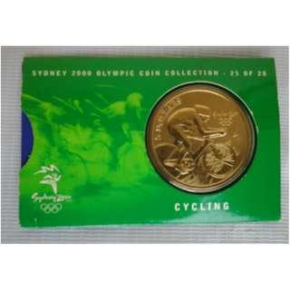 Koin Koleksi Sydney 2000 Olympic Cycling