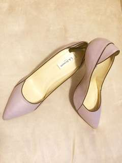 L.K. Bennett lavender designer shoes