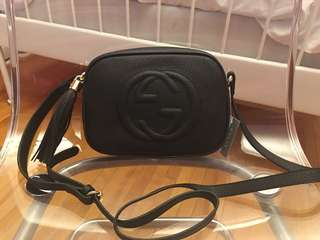 Gucci Soho Disco Bag - Black