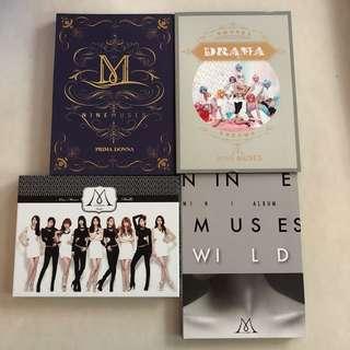 Nine Muses albums