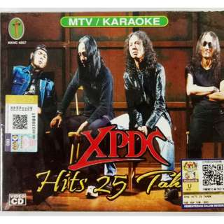 XPDC Hits 25 Tahun VCD Karaoke 2VCD