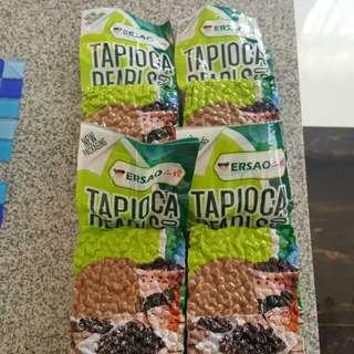 Ersao Black Tapioca Pearls