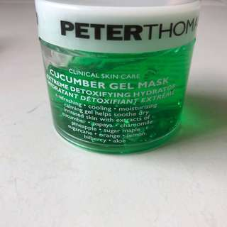 Peter thomas roth cucumber mask gel read description