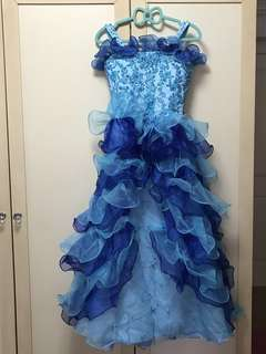 Elegant princess pageant/party dress