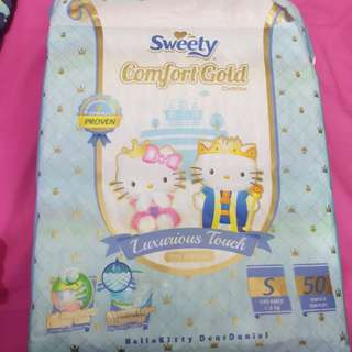 Sweety  Comfort Gold S 50 pcs