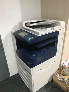 Network copier machine