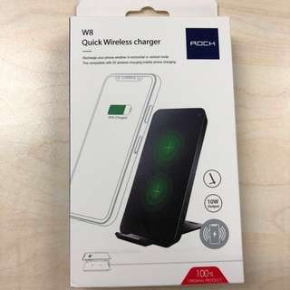 Rock W8 quick wireless charger 無線充電器
