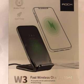 Rock W3 fast wireless charging stand 無線充電 托