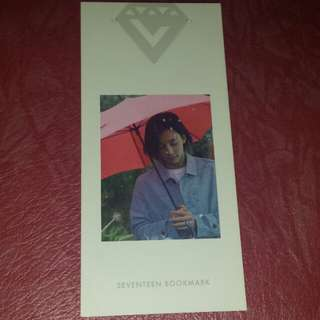 Seventeen's Love and Letter- Jeonghan's bookmark
