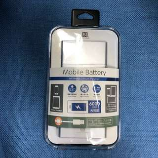 Power Support Mobile Battery 6000mAh