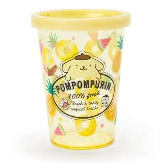 Japan Sanrio Pompompurin Cup Pen Stand (fruit)