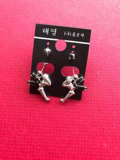 Angel Figurine Ear Ring