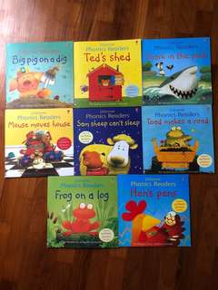 Usborne phonics books