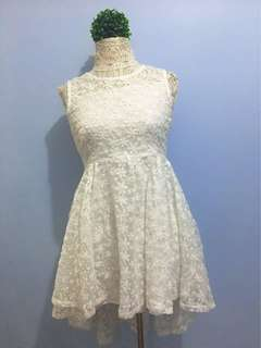 NEW! Cocktail White Lace Dress