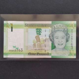 2010 States Of Jersey £1 Currency Banknote