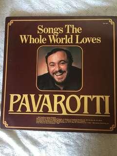 Pavarotti Vinyl