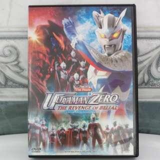 DVD Ultraman Zero - Revenge Of Belial