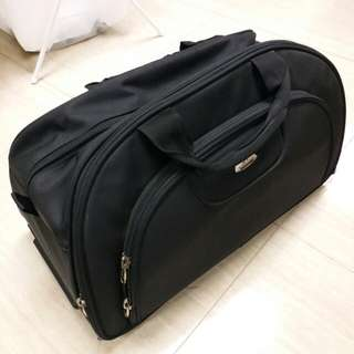 Nylon Hand Carry Luggage with 2 Wheels and Handles 尼龍手提袋 手拉喼