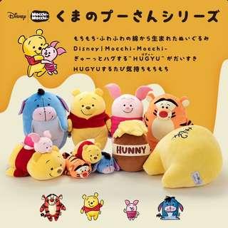 Winnie the pooh mocchi 公仔系列