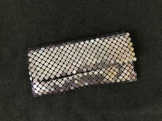 Forever 21 Metallic Sling Clutch