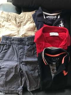 Boy short pant / Polo T
