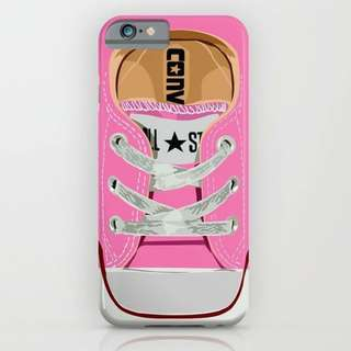 CUSTOM CASE CONVERSE SHOES PINK