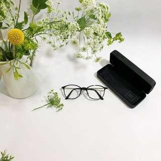 免運✨9.5成新 幾乎沒用過Owndays 金屬邊黑框眼鏡 原價3490✨