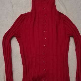 Curtle neck (red)