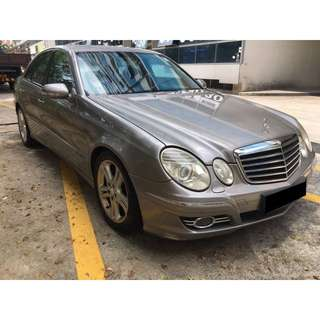 23/03-26/03/2018 MERCEDES BENZ E200 ONLY $330.00 (P PLATE WELCOME)