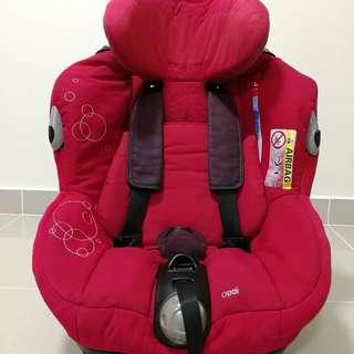 Car seat (Maxi Cosi Opal- Red)