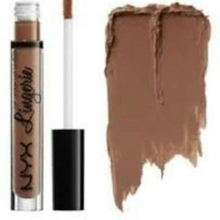 NYX lingerie liquid lip teddy