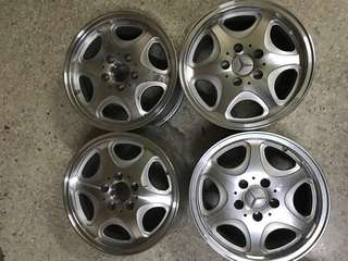"Mercedes Benz 15"" rims n BMW 16"" rim"