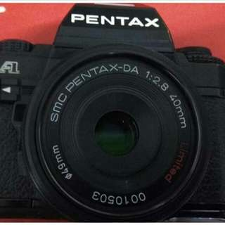 Pentax Super A with 40mm f2.8