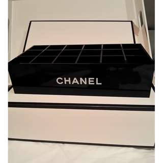 chanel vip lipstick storage box