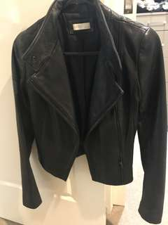 Kookai chateau leather jacket