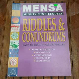 Mensa Mighty Mind Benders