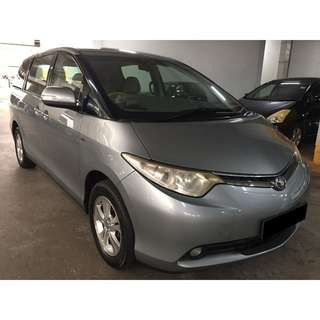 23/03-26/03/2018 TOYOTA ESTIMA 7 SEATER PREVIA ONLY $300.00 (P PLATE WELCOME)
