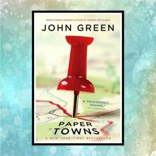 Paper Towns E-book • Google Playbooks & iBooks